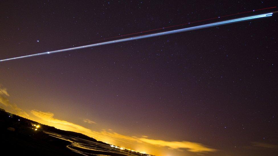 El espectáculo de la conjunción de Venus y Júpiter