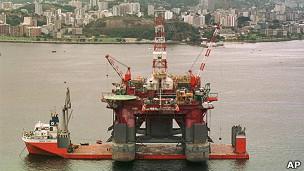 Plataforma en la Bahía de Guanabara, en Río de Janeiro