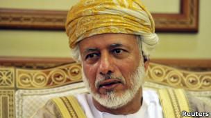 یوسف بن علوی، وزیر امور خارجه عمان