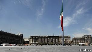 Plaza del Zócalo.