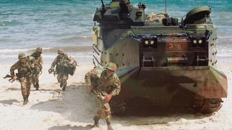 Tập trận Mỹ - Philippines -hình tư liệu