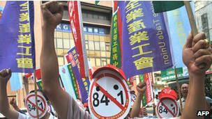 श्रमिकों का प्रदर्शन