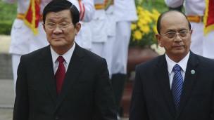 Chủ tịch Trương Tấn Sang và Tổng thống Thein Sein