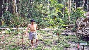 jardín indígena