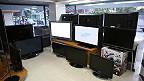 Televisión en almacén (foto genérica)
