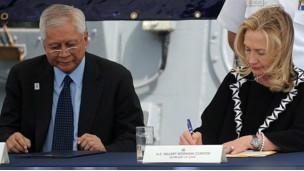 Ngoại trưởng hai nước ký tuyên bố kỷ niệm 60 năm có Hiệp định Tương trợ Quốc phòng (1951-2011)