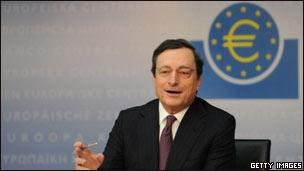 ماریو دراگی، رئیس بانک مرکزی اروپا