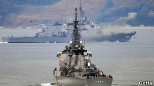کشتی ایجیس حامل موشک ضد موشک ژاپن