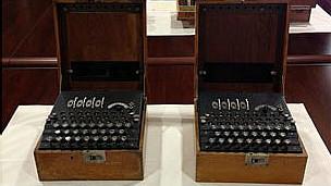 Máquinas Enigma descubiertas en España