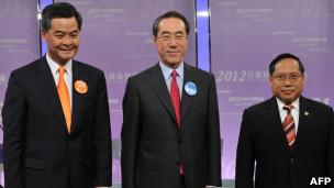 三名候選人