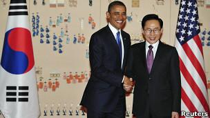 Obama y Lee