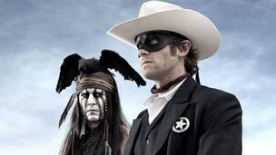 """Johnny Depp en """"El Llanero Solitario"""""""