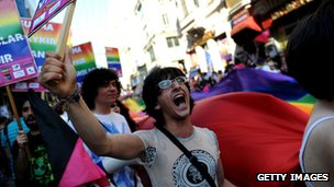 Parada gay na Turquia/Getty Images