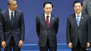Pemimpin AS, Cina, Korsel