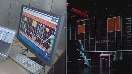 Tecnología digital aplicada al teatro