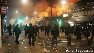 شورش های بریتانیا