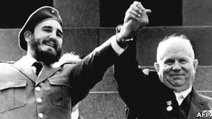 Castro y Jrushchov