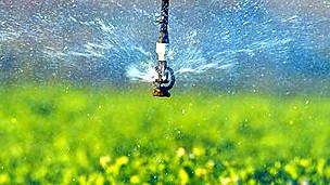 Irrigación de cultivos Foto SPL
