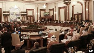 جلسه مقدماتی اتحادیه عرب