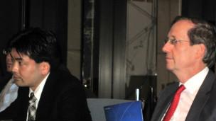Shinji Yamaguchi và Jean-Pierre Cabestan