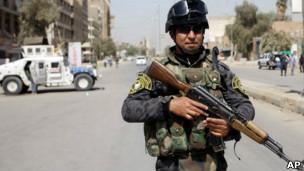 ماموران امنیتی در بغداد