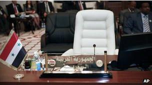 جای خالی سوریه در اجلاس اتحادیه عرب