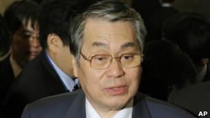 وزیر دفاع ژاپن