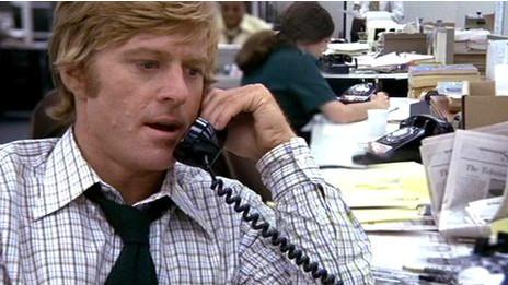 Robert Redford como Bob Woodward