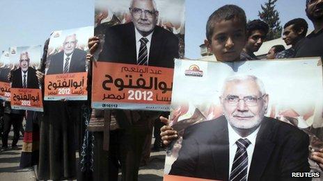 عبد المنعم ابو الفتوح، از رهبران اخوان المسلمین،