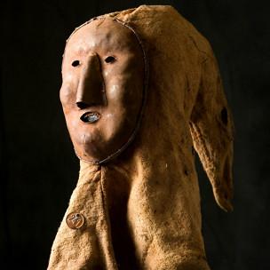 Máscara de carrasco que integrava mostra (Cornette de Saint Cyr)