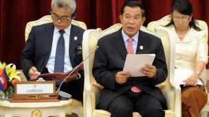 Thủ tướng Campuchia Hun Sen chủ trì một hội nghị Thượng đỉnh Asean