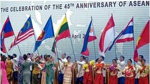 Lễ kỷ niệm 45 năm thành lập Asean ở Phnom Penh