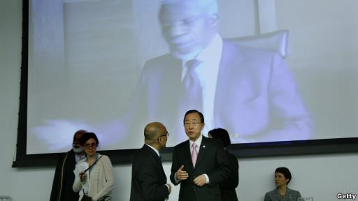 Sekjen PBB Ban Ki Moon