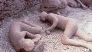 Ruínas de Pompeia