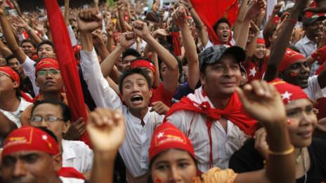 Bầu cử bổ sung ở Miến Điện