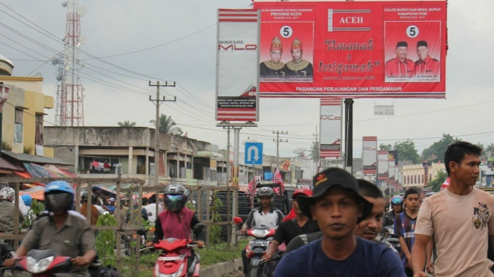 aceh, election