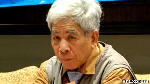 Nhà văn Bùi Ngọc Tấn