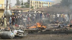 Shambulio la bomu la karibuni mjini Kaduna
