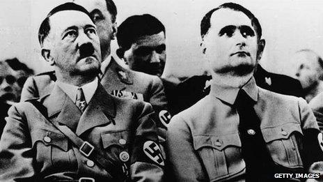 Гесс и Гитлер