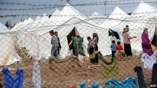 Pengungsi Suriah di Turki.