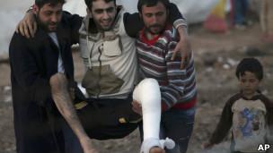 土耳其境内叙利亚难民营