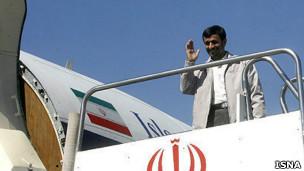 محمود احمدی نژاد، رئیس جمهوری ایران