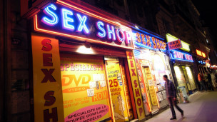 Sex shop em Paris