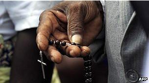 Católicos en Angola
