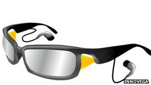 Gafas proyectoras