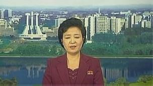 Tin trên truyền hình Bắc Hàn về thất bại của vụ phóng hỏa tiễn