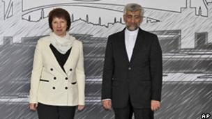 سعید جلیلی و کاترین اشتون