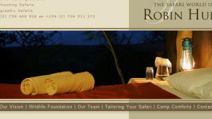 Página web de Robin Hurt Safaris