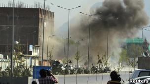 Một vụ tấn công ở Kabul hôm 15/4/2012