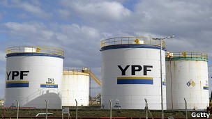 Tanques YPF